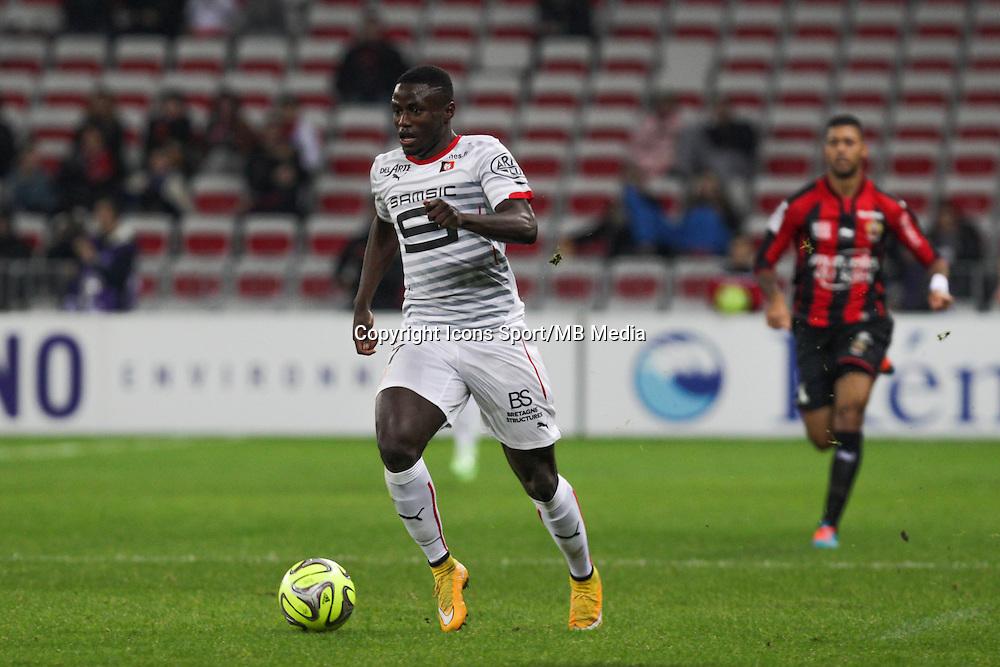 Paul Georges NTEP - 03.12.2014 - Nice / Rennes - 16eme journee de Ligue 1 -<br /> Photo : Jean Christophe Magnenet / Icon Sport