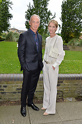DAVID & VANESSA TAIT at an Evening at The River Cafe in aid of the NSPCC held at The River Cafe, Thames Wharf, Rainville Road, London on 19th June 2016