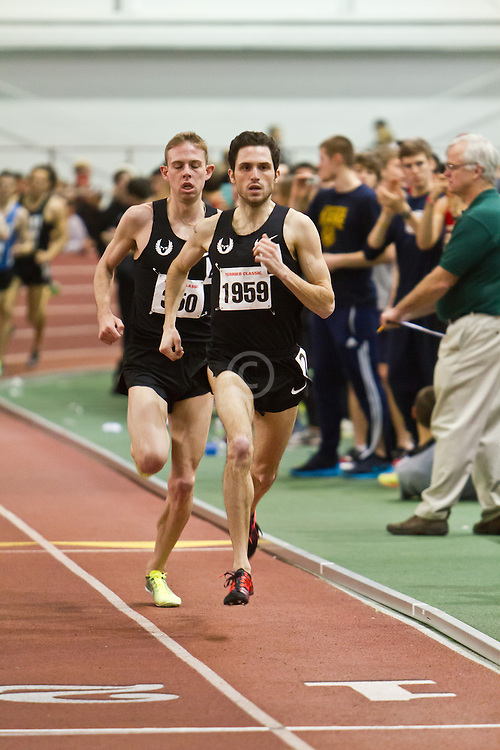 Boston University Terrier Invitational Indoor Track Meet: Dorian Ulrey paces Galen Rupp, Oregon Project, to win Elite Mile 3:50.92