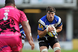 Guy Mercer of Bath Rugby - Photo mandatory by-line: Patrick Khachfe/JMP - Mobile: 07966 386802 13/09/2014 - SPORT - RUGBY UNION - Bath - The Recreation Ground - Bath Rugby v London Welsh - Aviva Premiership