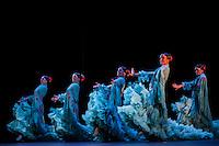 Alegrias danced as part of Metaforo, Ballet Flamenco de Andalucia, Sadler's Wells Flamenco Festival. London 2013
