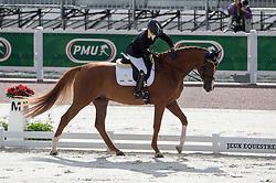 Silvia Ciarrocchi, (ITA), Royandic - Team Competition Grade IV Para Dressage - Alltech FEI World Equestrian Games™ 2014 - Normandy, France.<br /> © Hippo Foto Team - Jon Stroud <br /> 25/06/14