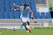 SS Lazio's Senad Lulic during the Pre-Season Friendly match between Brighton and Hove Albion and SS Lazio at the American Express Community Stadium, Brighton and Hove, England on 31 July 2016.