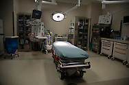 DALLAS, TX - JULY 28: An interior view of a trauma unit at Parkland Memorial Hospital in Dallas, Texas on July 28, 2016.  (Photo by Cooper Neill for The Washington Post)