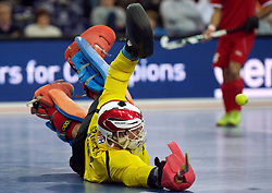 LEIZPIG - WC HOCKEY INDOOR 2015<br /> AUT v IRI (Semi Final 2)<br /> SZYMCZYK Mateusz (GK)<br /> FFU PRESS AGENCY COPYRIGHT FRANK UIJLENBROEK