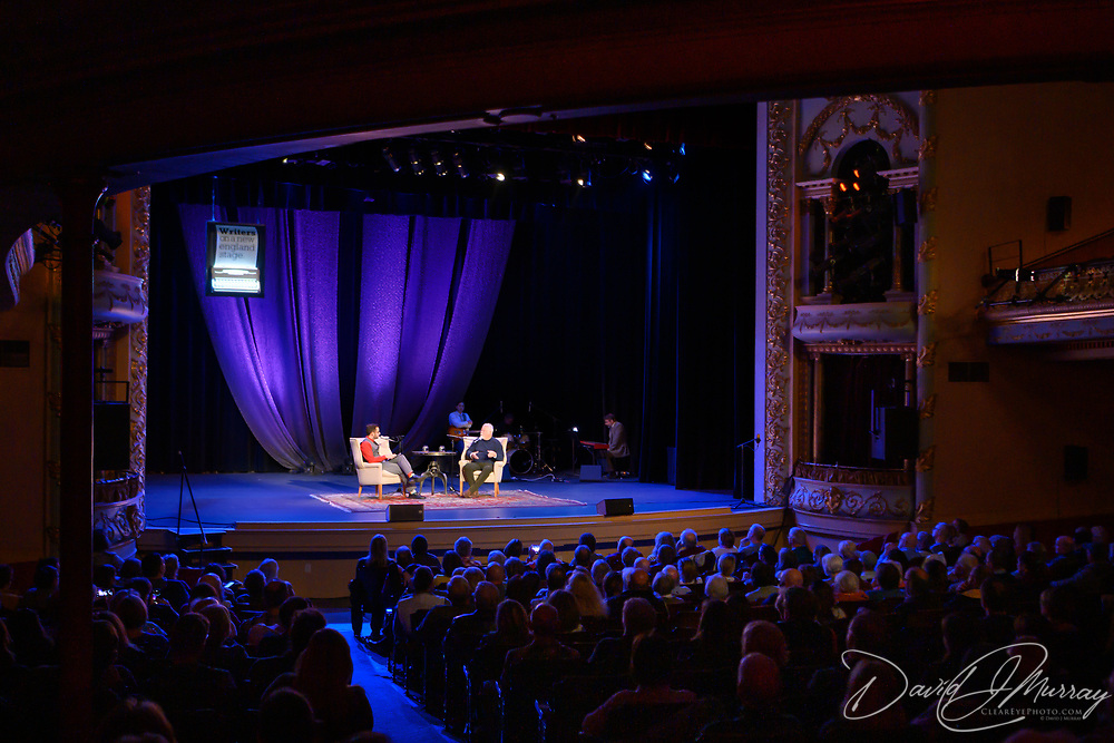NHPR's Peter Bielo interviews Michael Connelly  in a Writers On A New England Stage show at The Music Hall in Portmouth, NH.