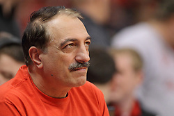 18 March 2015:   Dr. Ramsin Benyamin during an NIT men's basketball game between the Green Bay Phoenix and the Illinois State Redbirds at Redbird Arena in Normal Illinois