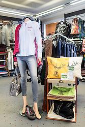 THEMENBILD - Kleidung, Schuhe und Accessoires in einem Modegeschäft, aufgenommen am 18. November 2016, Kaprun, Österreich // Clothing, shoes and accessories in a fashion shop, Kaprun, Austria on 2016/11/18. EXPA Pictures © 2016, PhotoCredit: EXPA/ JFK