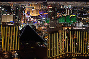 Las Vegas, NV<br /> <br /> Las Vegas strip from Mandalay Bay - View North
