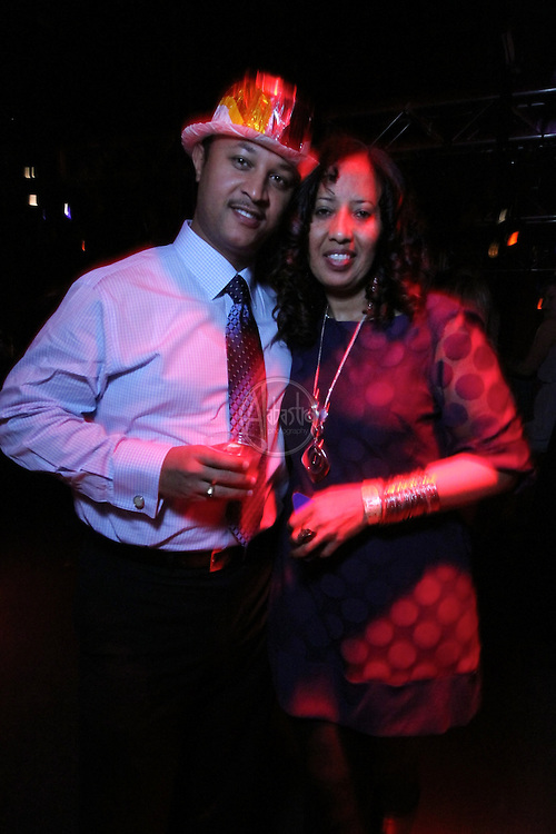 The 9th Annual Indulgence 2011 at the EMP: Seattle's Largest New Year's Eve Bash.   VIP Gold Lounge and guests.