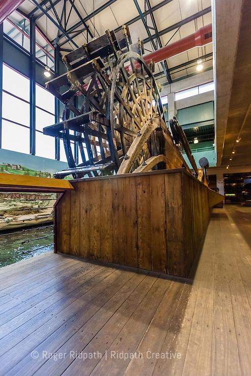 Paddlewheel of the Arabia Steamboat