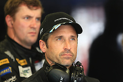 June 17, 2017 - Le Mans, Sarthe, France - Dempsey-Proton Racing Porsche 911 RSR owner PATRICK DEMPSEY inquired after the crash of its car number 88 during the free practice session of the 24 hours of Le Mans on the Le Mans Circuit - France (Credit Image: © Pierre Stevenin via ZUMA Wire)