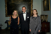 Iwona Blazwick, Dr. Luigi  and Mrs. Maramotti, Dinner at the Italian Embassy in which the winner of the MaxMara Art Prize ( in collaboration with the Whitechapel art gallery )for Women is announced. Grosvenor Sq. London. 29 January 2008.  -DO NOT ARCHIVE-© Copyright Photograph by Dafydd Jones. 248 Clapham Rd. London SW9 0PZ. Tel 0207 820 0771. www.dafjones.com.