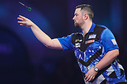 Luke Humphries during the PDC William Hill Darts World Championship at Alexandra Palace, London, United Kingdom on 13 December 2019.