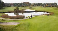 VELDHOVEN - Hole Red 8. Golfbaan Gendersteyn Burggolf.  COPYRIGHT KOEN SUYK
