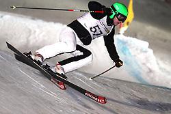 Simon Jecl of Slovenia at FIS World Cup Ski cross race, on January 4, 2009 in St. Johann, Austria. (Photo by Grega Stopar)