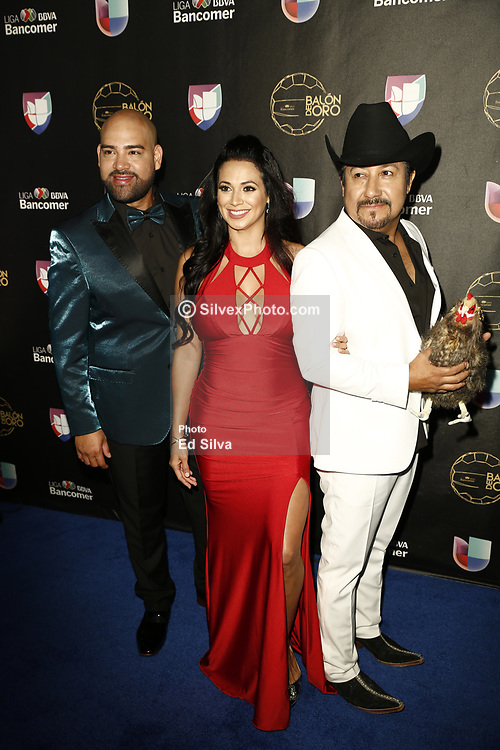 LOS ANGELES, CA - JULY 15: El Bueno, la Mala y El Feo attend Univision Deportes' Balon De Oro 2017 Awards at The Orpheum Theatre in Los Angeles, California on July 15, 2017 in Los Angeles, California. Byline, credit, TV usage, web usage or linkback must read SILVEXPHOTO.COM. Failure to byline correctly will incur double the agreed fee. Tel: +1 714 504 6870.