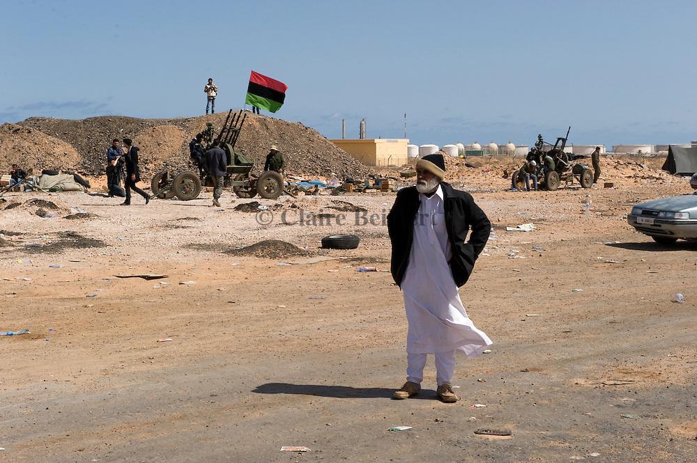 Old libyans in Ras Lanouf
