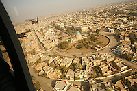 US Army Blackhawk helicopters over Baghdad, December 2006