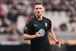 Marcus Antonsson of Malmo FF during the UEFA Europa League group I match between between Besiktas AS and Malmo FF at the Besiktas Park on December 13, 2018 in Istanbul, Turkey