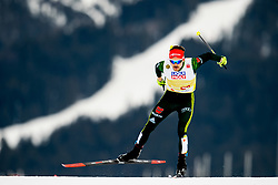 February 24, 2019 - Seefeld In Tirol, AUSTRIA - 190224 Fabian Riessle of Germany competes in men's nordic combined team sprint during the FIS Nordic World Ski Championships on February 24, 2019 in Seefeld in Tirol..Photo: Vegard Wivestad GrÂ¿tt / BILDBYRN / kod VG / 170297 (Credit Image: © Vegard Wivestad Gr¯Tt/Bildbyran via ZUMA Press)