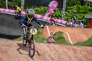 #23 (STANCIL Felicia) USA at the 2016 UCI BMX World Championships in Medellin, Colombia.
