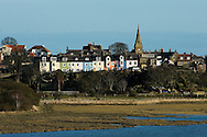 Alnmouth, St Oswald's Way / Northumberland Coast Path, Northumberland, UK