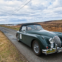 Car 22 William Fountain / Lauren Allan Jaguar XK150
