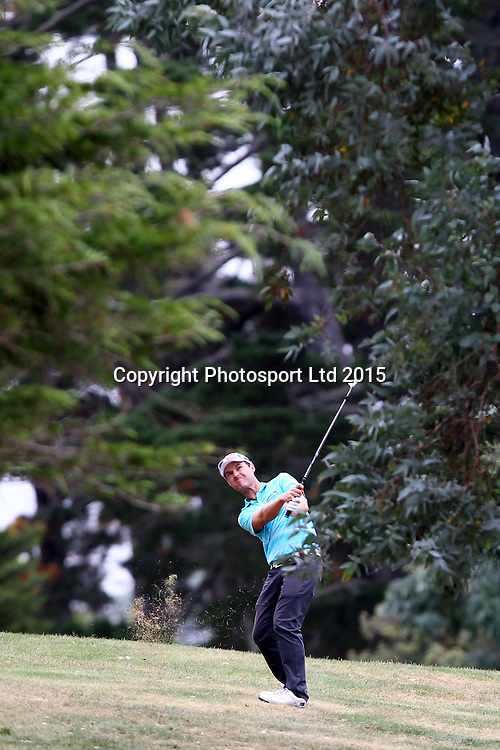 Matthew Griffin during the Holden NZPGA Championship at Remuera Golf Course in Auckland, New Zealand. Friday 6 March 2015. Copyright photo: William Booth / www.Photosport.co.nz