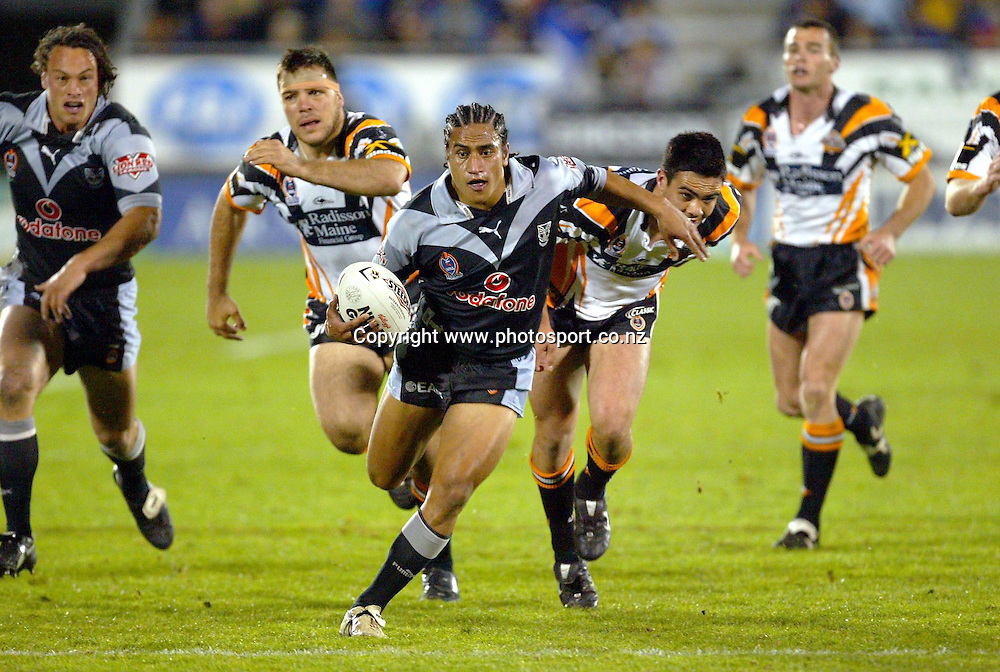 6th September, 2003. NRL Round 26. Ericsson Stadium, Auckland, New Zealand. New Zealand Warriors v Wests Tigers.<br />