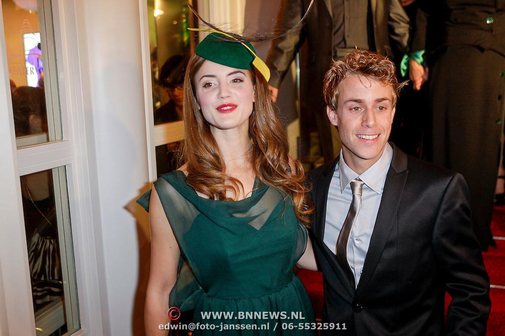 NLD/Scheveningen/20111106 - Premiere musical Wicked, Christanne de Bruijn en Niels Jacobs