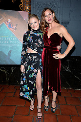 Jennifer Garner and Maika Monroe attend the premiere of IFC Films' 'The Tribes of Palos Verdes' at The Theatre at Ace Hotel on November 17, 2017 in Los Angeles, California. Photo by Lionel Hahn/AbacaPress.com