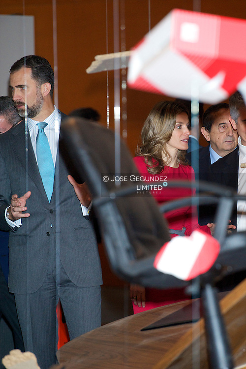 Prince Felipe and Princess Letizia attended the Opening of the 30th edition of the International Contemporary Art Fair (ARCO) at IFEMA in Madrid