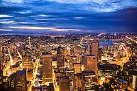 Summer Twilight in Seattle