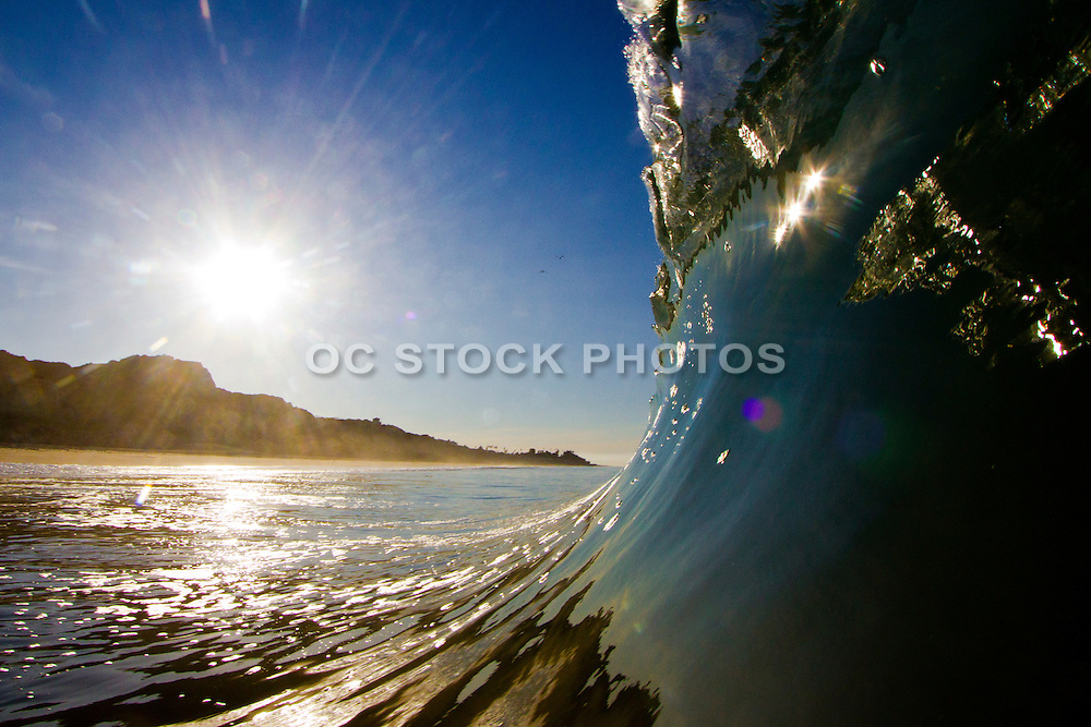 Sunrise Waves Crashing in San Clemente