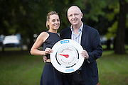 Repro Free: 30/09/2014 <br /> Oeperation Transformation presenters Kathryn Thomas and John Murray pictured as RT&Eacute; put the call out for leaders for the upcoming Operation Transormation 2014. http://www.rte.ie/ot . Picture Andres Poveda