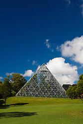Pyramid glasshouse / greenhouse, The Royal Botanic Gardens, Sydney, Australia