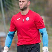 St Johnstone's Alan Mannus pictured in training this morning....22.08.14<br /> Picture by Graeme Hart.<br /> Copyright Perthshire Picture Agency<br /> Tel: 01738 623350  Mobile: 07990 594431