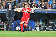 Niklas Sule (Bayern Munich) during the UEFA Champions League, semi final, 2nd leg football match between Real Madrid and Bayern Munich on May 1, 2018 at Santiago Bernabeu stadium in Madrid, Spain - Photo Laurent Lairys / ProSportsImages / DPPI