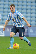 Coventry City midfielder John Fleck during the Sky Bet League 1 match between Coventry City and Peterborough United at the Ricoh Arena, Coventry, England on 31 October 2015. Photo by Alan Franklin.