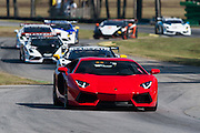 October 3-5, 2013. Lamborghini Super Trofeo - Virginia International Raceway. Safety car.