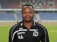 German Soccer Bundesliga 2015/16 - Photocall of Hannover 96 on 13 July 2015 in Hanover, Germany: equipment manager Raymond Saka