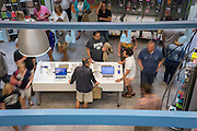 Students and parents check out the Bobcat Depot offerings during Bobcat Student Orientation on Wednesday, June 3, 2015.  Photo by Ohio University  /  Rob Hardin