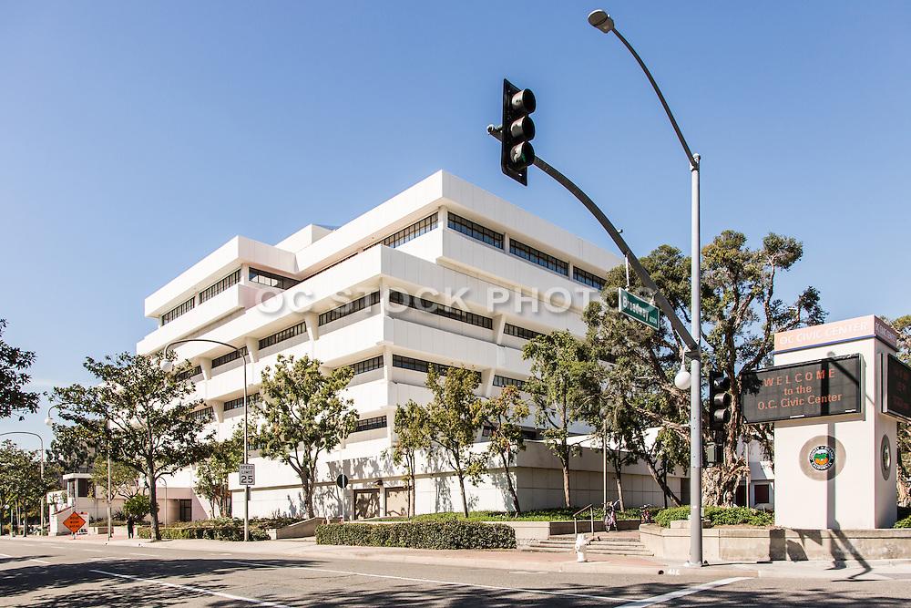 OC Civic Center at Broadway and Santa Ana Blvd