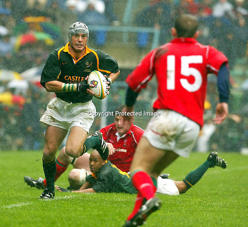 15/06/2002 Springboks vs Wales 2bd Test Newlands Cape Town South Africa. SA won 19-8<br />