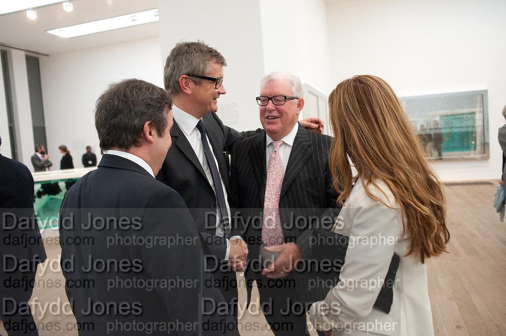 JAY JOPLING; FRANK DUNPHY, Damien Hirst, Tate Modern: dinner. 2 April 2012.