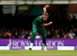 Stuart Broad of Nottinghamshire bowls during the Royal London One-Day Cup Final - Mandatory by-line: Robbie Stephenson/JMP - 01/07/2017 - CRICKET - Lord's Cricket Ground - London, United Kingdom - Nottinghamshire v Surrey - Royal London One-Day Cup Final 2017