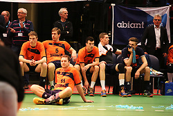 20160424 NED: Play off finale Abiant Lycurgus - Seesing Personeel Orion, Groningen<br />Teleustelling bij Seesing Personeel Orion