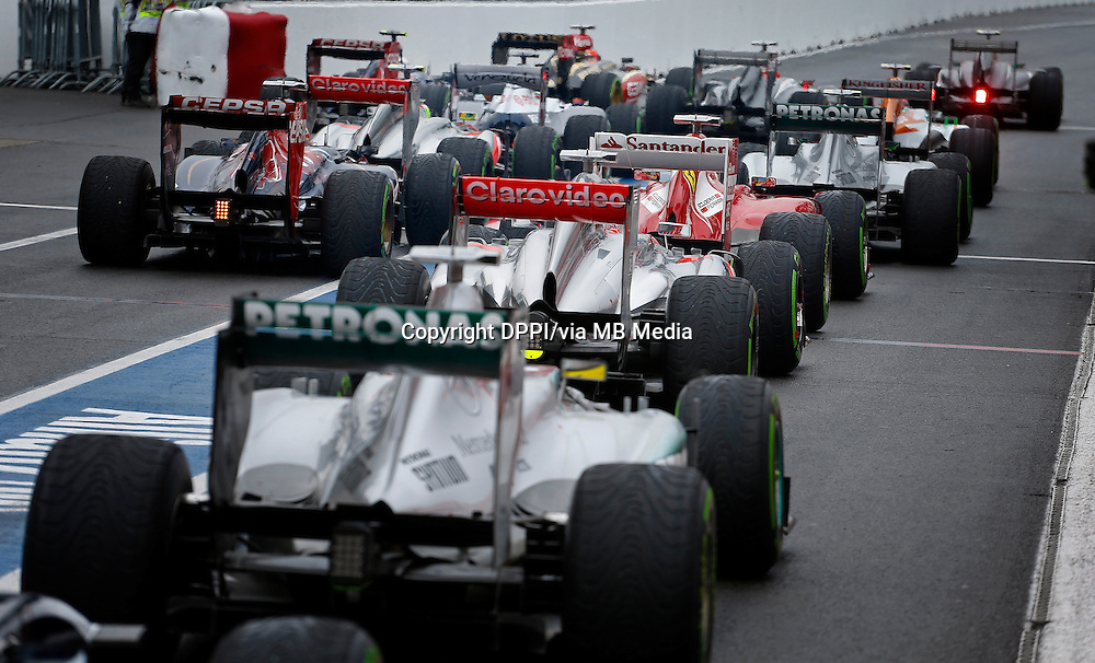 MOTORSPORT - F1 2013 - GRAND PRIX OF CANADA - MONTREAL (CAN) - 07 TO 09/06/2013 - PHOTO FRANCOIS FLAMAND / DPPI - QUALIFY Q3