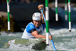 Tomas RAK of Czech Republic during the Canoe Single (C1) Men SemiFinal race of 2019 ICF Canoe Slalom World Cup 4, on June 28, 2019 in Tacen, Ljubljana, Slovenia. Photo by Sasa Pahic Szabo / Sportida